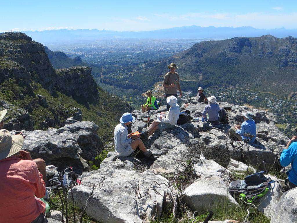 Judas Peak Ridge route