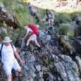 descending Llandudno Buttress