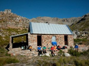 Photo of Thomas Hut in the Hex River Mountains