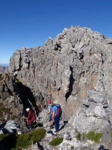 The final approach to Mount Superior on Zuurberg in the Hex River Mountains